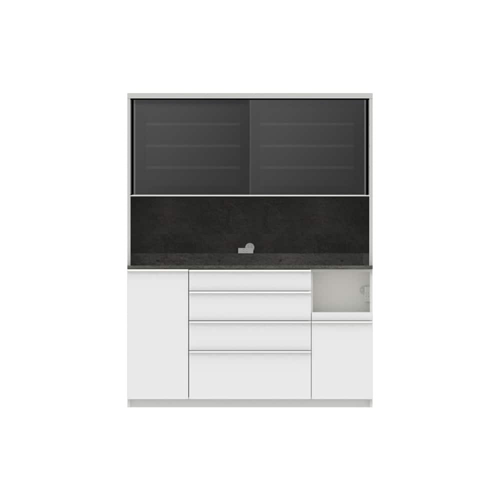 パモウナ ダイニングボード ディスペンサ RQR−S1600R SG/パールホワイト:パントリーの収納術を意識した商品