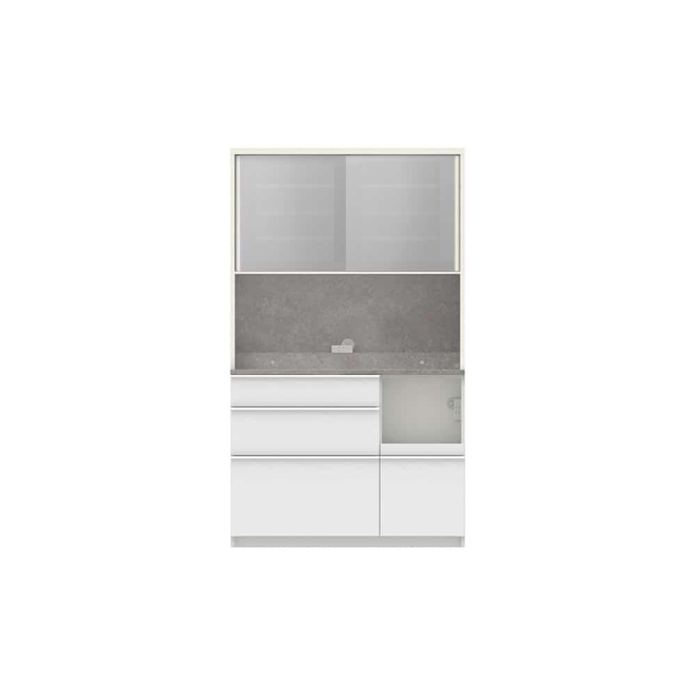 パモウナ ダイニングボード ディスペンサ SMR−S1100R WG/パールホワイト:パントリーの収納術を意識した商品
