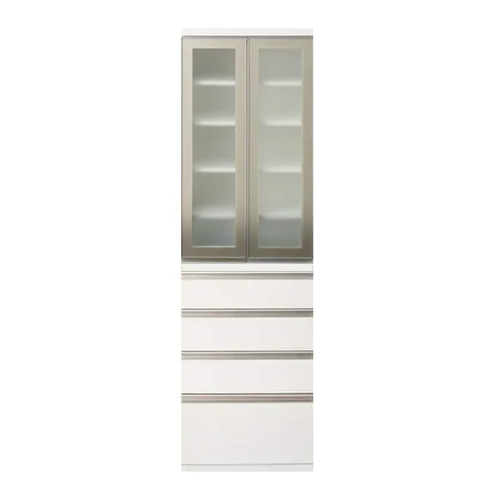 【ニトリ】 食器棚 リガーレ 幅60 WH 50GH−60DB/H50−60C:キッチンボード リガーレ