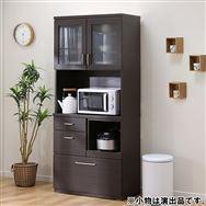 【ニトリ】 キッチンボード コパン 80KB DBR ダークブラウン
