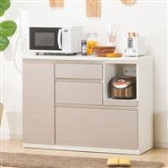 【ニトリ】 キッチンカウンター アルミナ2 120CT SI シルバー