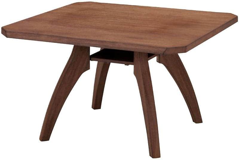 LDテーブル静香 WT11059 U−NB BR:《和風テイストでリビング兼用のダイニングセット「静香」》
