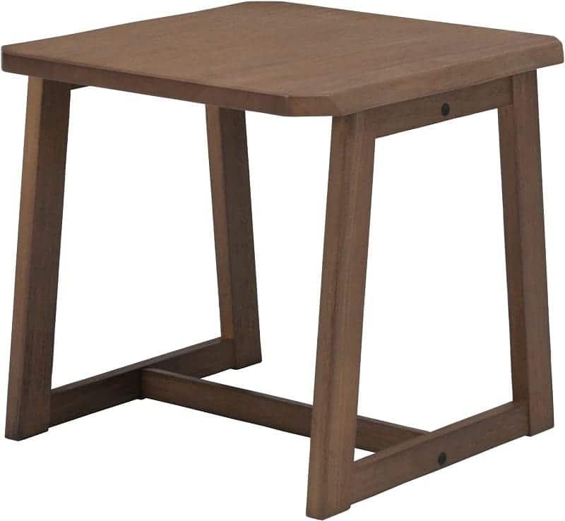 コーナーテーブル静香 CT6026 U−NB BR:《和風テイストでリビング兼用のダイニングセット「静香」》