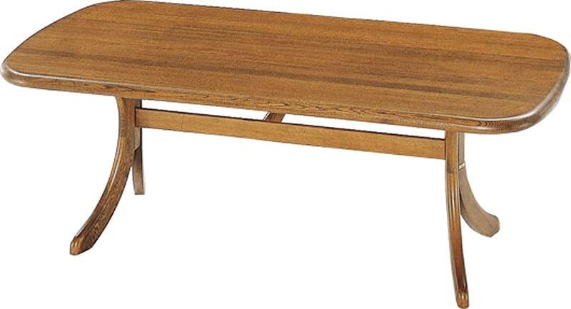 ダイニングテーブル 萌木 DT−2000(127X85)DA:ダイニングテーブル ※写真は【幅135cm】のサイズです