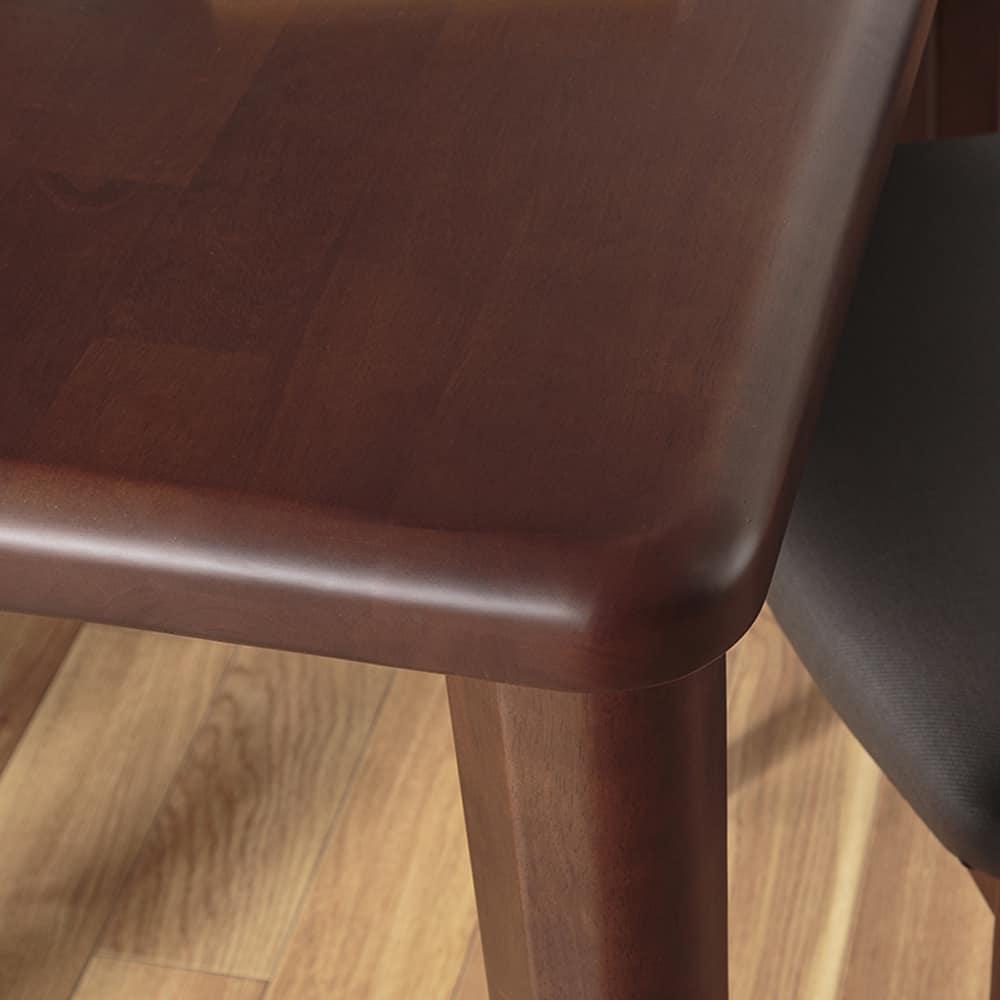 ダイニングテーブル CCM3 125−75Z 4本脚 DBN:お好みの脚をチョイス