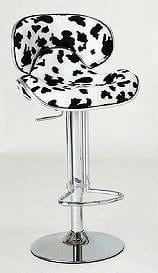 カウンターチェアー ピコ KC−C36 COW牛柄:《背もたれがあり、ゆったりと座れるカウンターチェア》