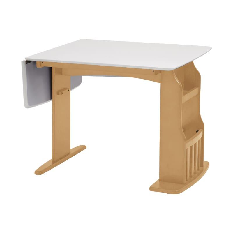 ダイニングテーブル パスタ(LBN/WH):家族や友人の来客に合わせて