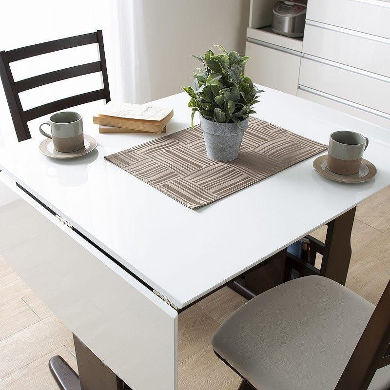ダイニングテーブル パスタ(LBN/WH):UV塗装