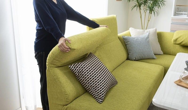 LDセット エクラ テーブル別売り(張地:E132色/脚:ナチュラル色):気分に合わせてハイバックとローバックを使い分ける