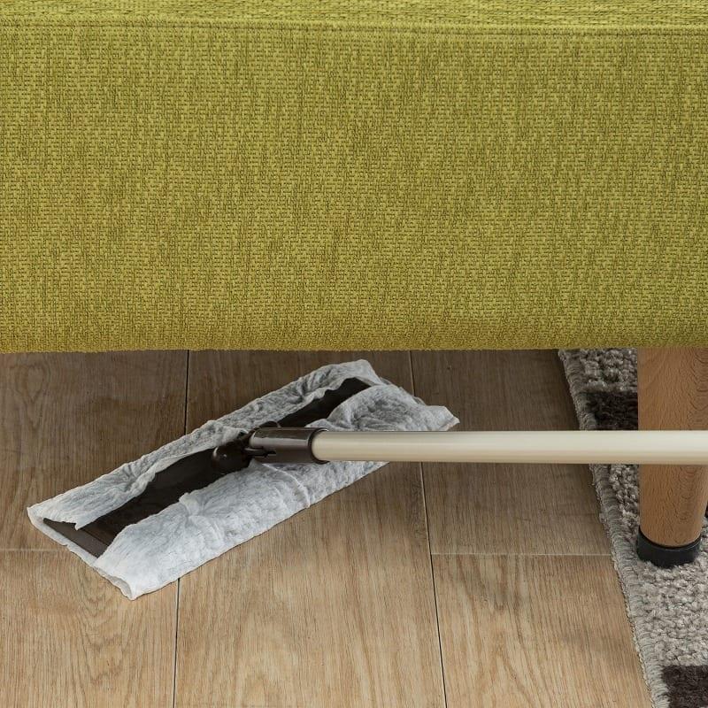 LDセット エクラ テーブル別売り(張地:E132色/脚:ナチュラル色):ソファーカバーは洗うことが出来ます♪