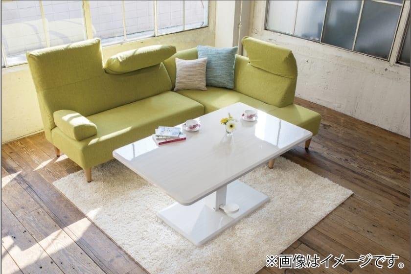 LDセット エクラ テーブル別売り(張地:E132色/脚:ナチュラル色)