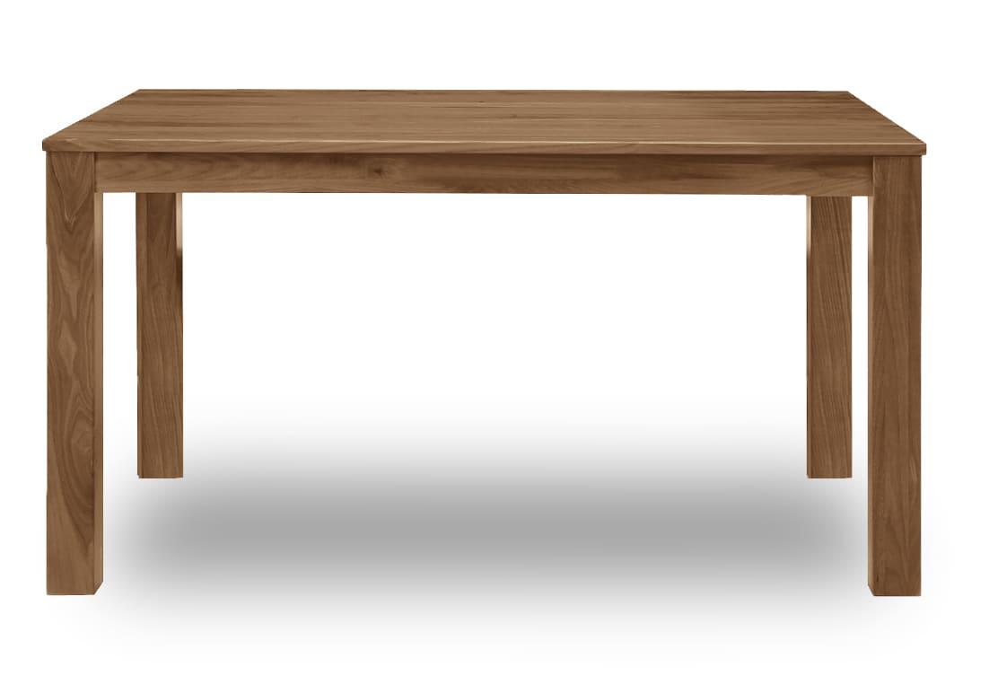ダイニングテーブル フォーゼ�U 135ウォールナットブラウン:Simple is best!