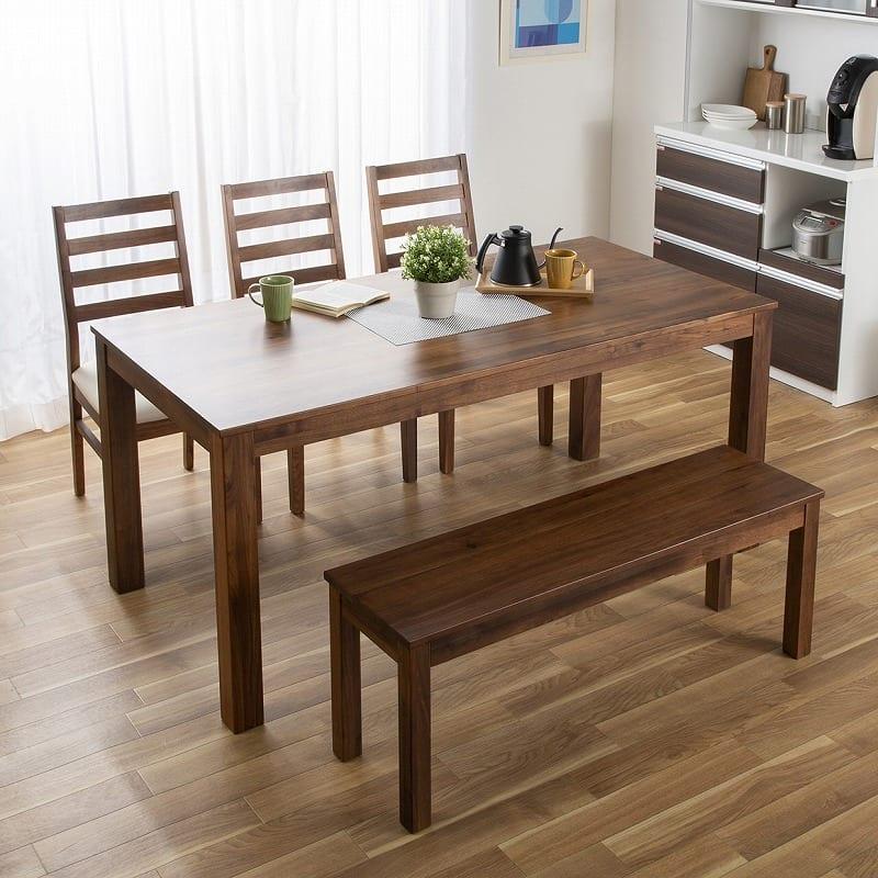 ダイニングテーブル フォーゼ�U 135オークナチュラル:無垢を愉しむ
