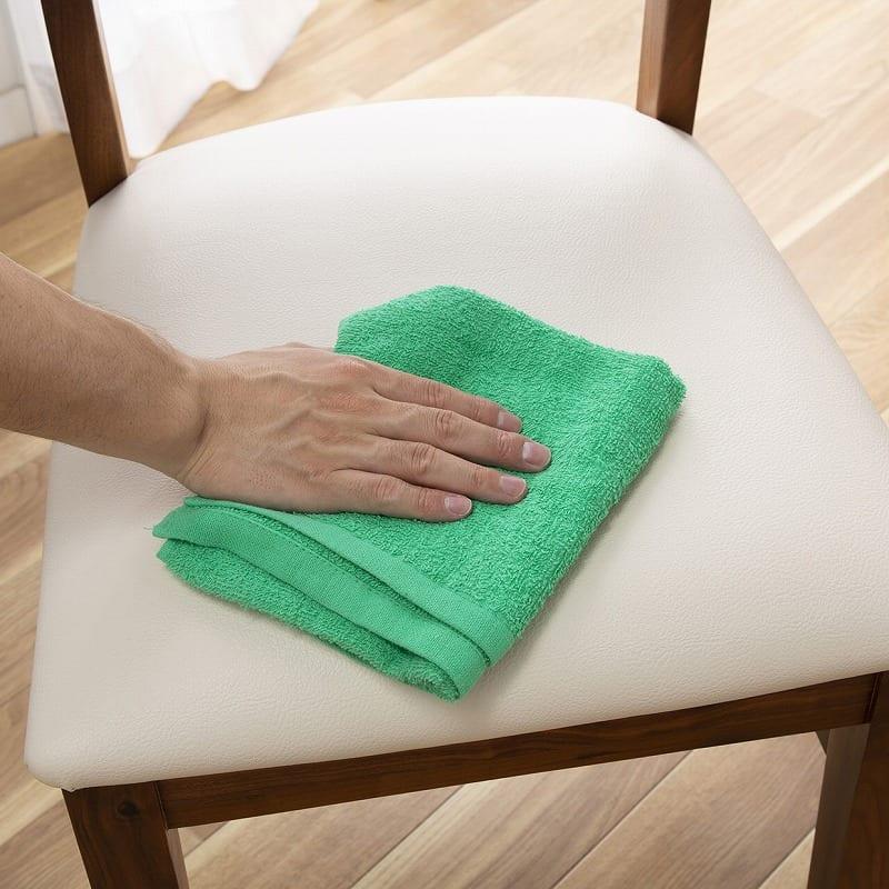 ダイニングチェアー オーズ板座(フォーゼ)ナチュラル:汚れてもお手入れ簡単