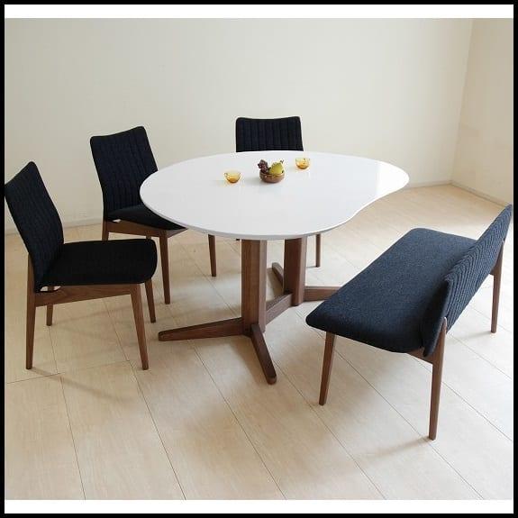 ダイニング5点セット COME HOME(カク型):信頼の国産家具