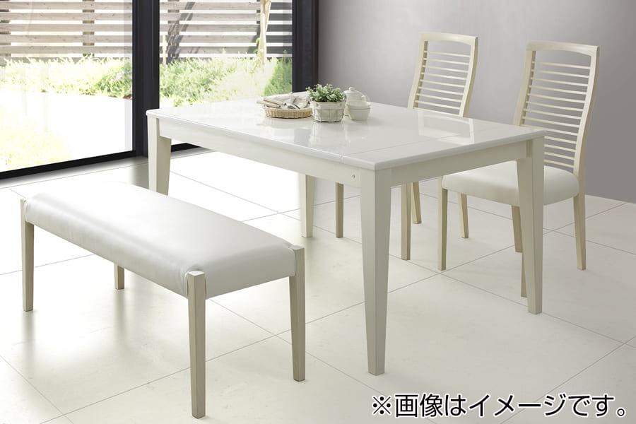 ダイニングテーブル  アビー (伸長式)