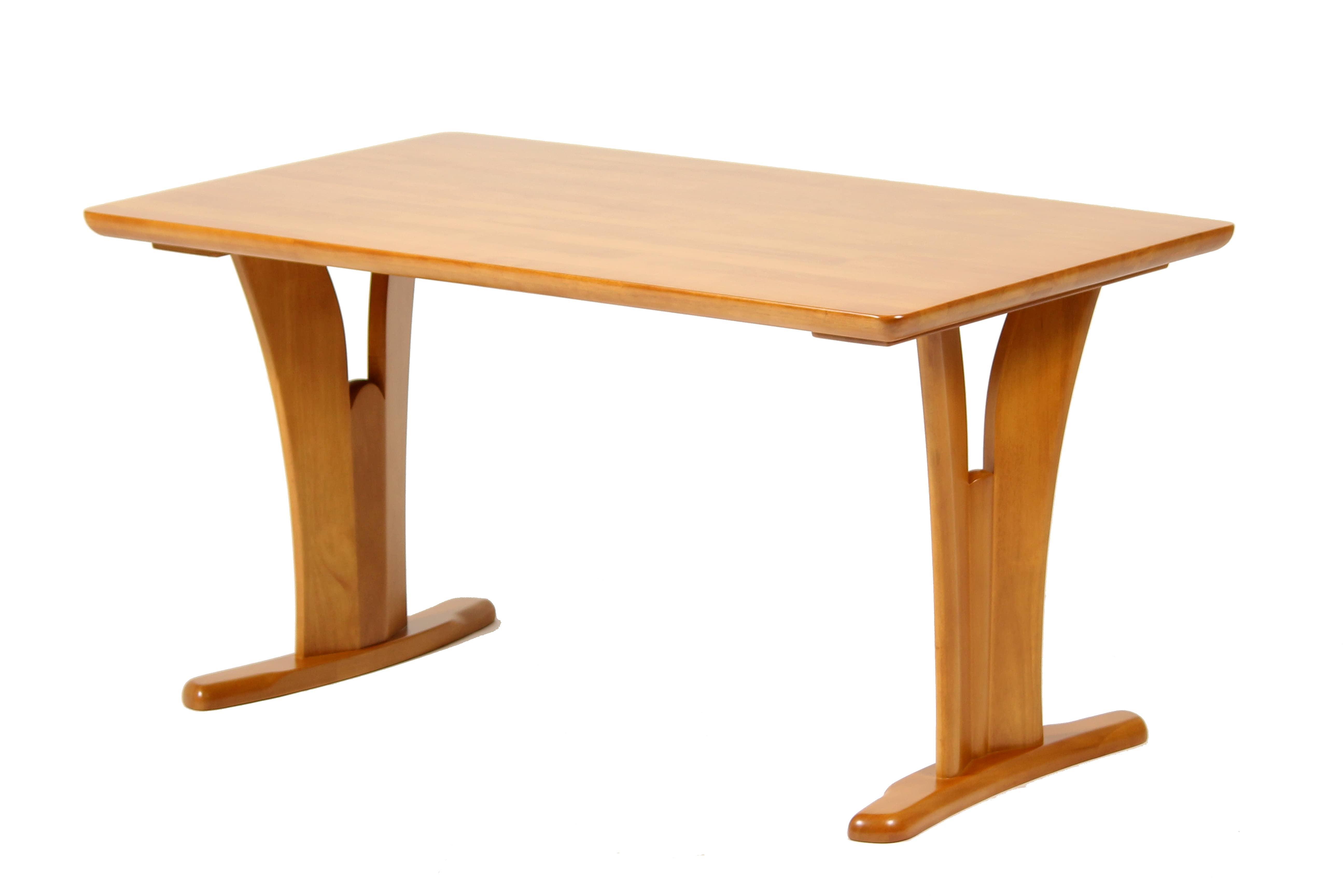 ダイニングテーブル SSC135ライトブラウン:ダイニングテーブル