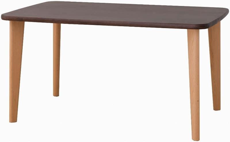 ダイニングテーブル ウィンザツートン CR345B NWD:ダイニングテーブル ※写真は【幅150cmサイズ】です