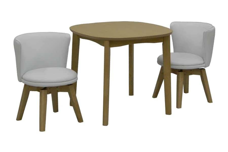 ダイニングテーブル KID'S PLAN ミネスト 80DT(LBN・LBN)