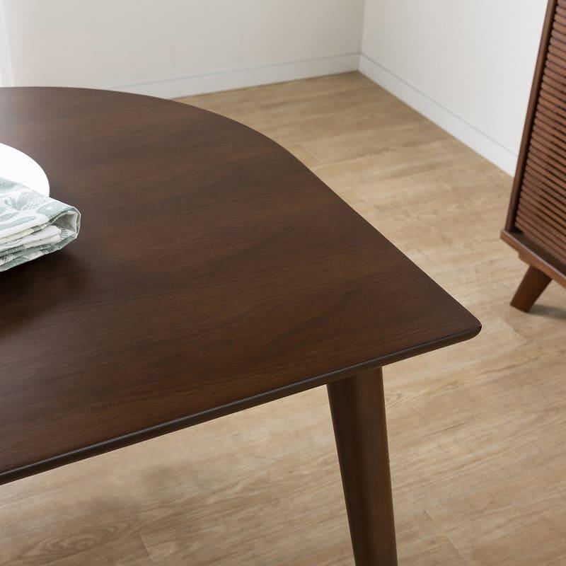 ダイニングテーブルKID'S PLAN リコッタ140(WH・DBN)