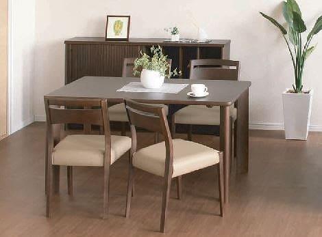 ダイニングテーブル DT−3158(135x80) カフェ