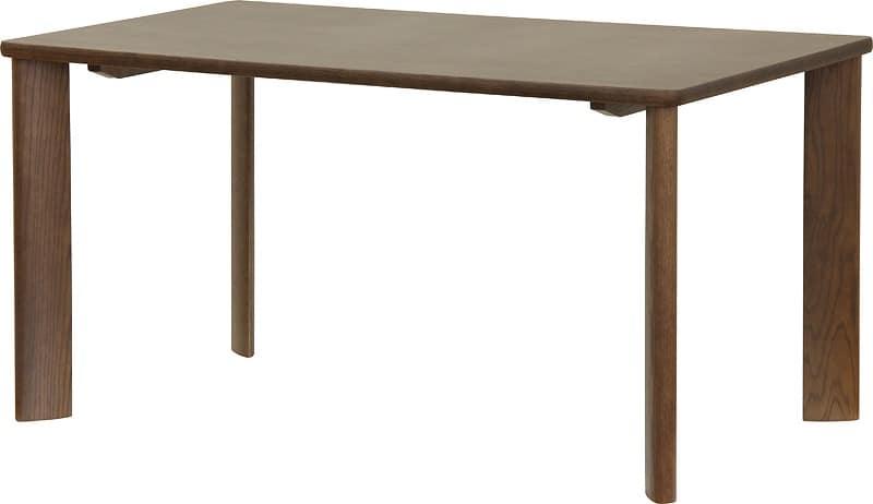 ダイニングテーブル DT−3158(150x80) カフェ:ダイニングテーブル ※写真は【幅135cmサイズ】です
