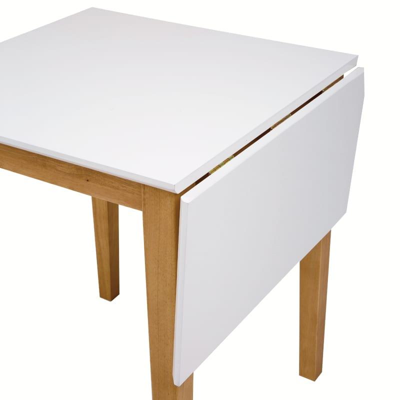 ダイニングテーブル  ジスタ60EX WH天板 WH・NA