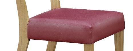 チェアカバー ジスタ  パープル:超コンパクトなダイニングセット 【カバー単体】の商品です