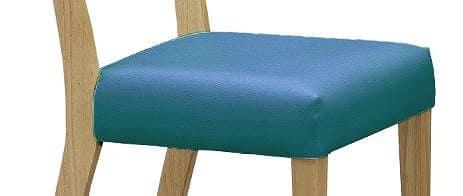 チェアカバー ジスタ  ブルー:超コンパクトなダイニングセット 【カバー単体】の商品です