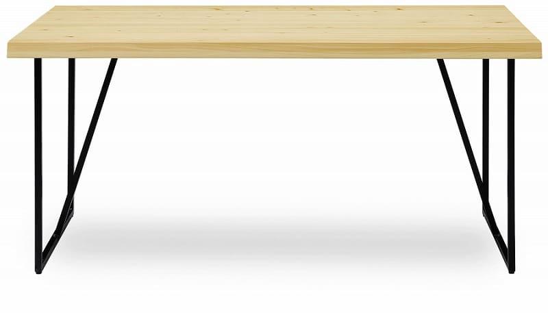 ダイニングテーブル HINOKI 蓮180テーブル:ダイニングテーブル