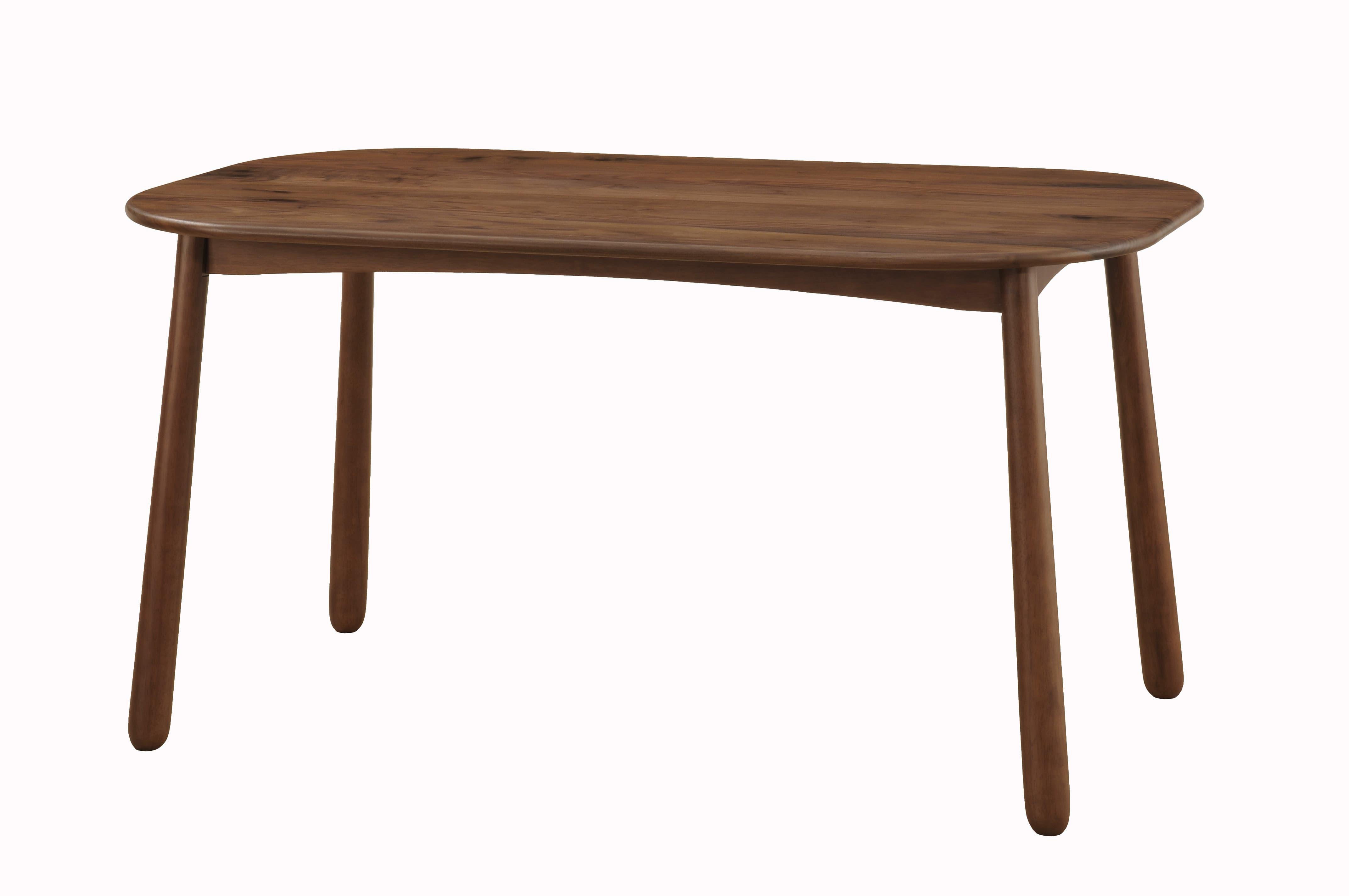 ダイニングテーブル W/Oセレクト 135楕円テーブル(WAL)
