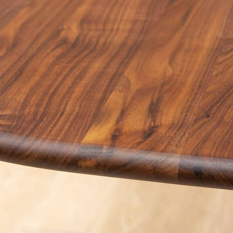 ダイニングチェア W/Oセレクト Dチェア デニッシュ(WAL/XBR):家族と共に時を刻む無垢テーブル(突板使用のテーブルもありますのでご注意ください)