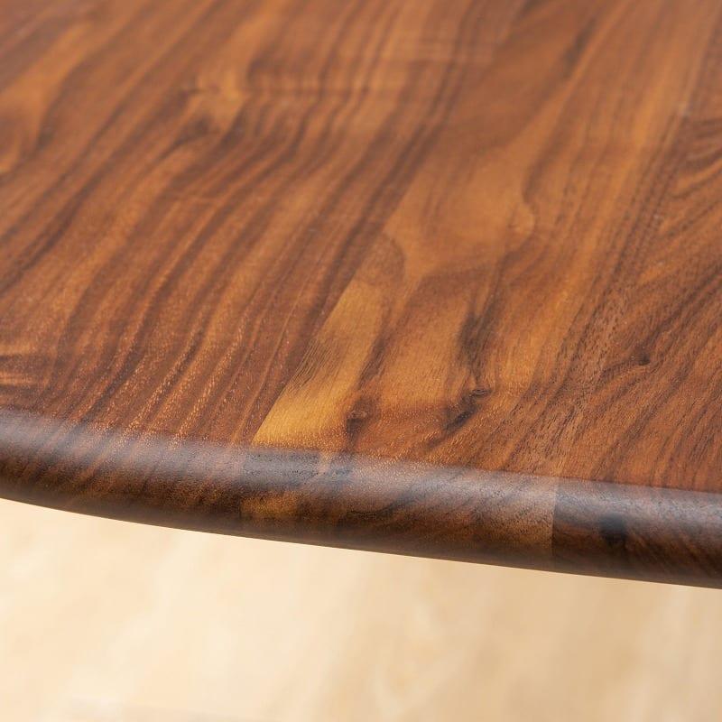 ダイニングベンチ W/Oセレクト 100ベンチ デニッシュ(WAL/XBR):家族と共に時を刻む無垢テーブル(突板使用のテーブルもありますのでご注意ください)