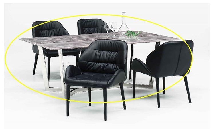 ダイニングテーブル ヴァレンシア 160 グレイ