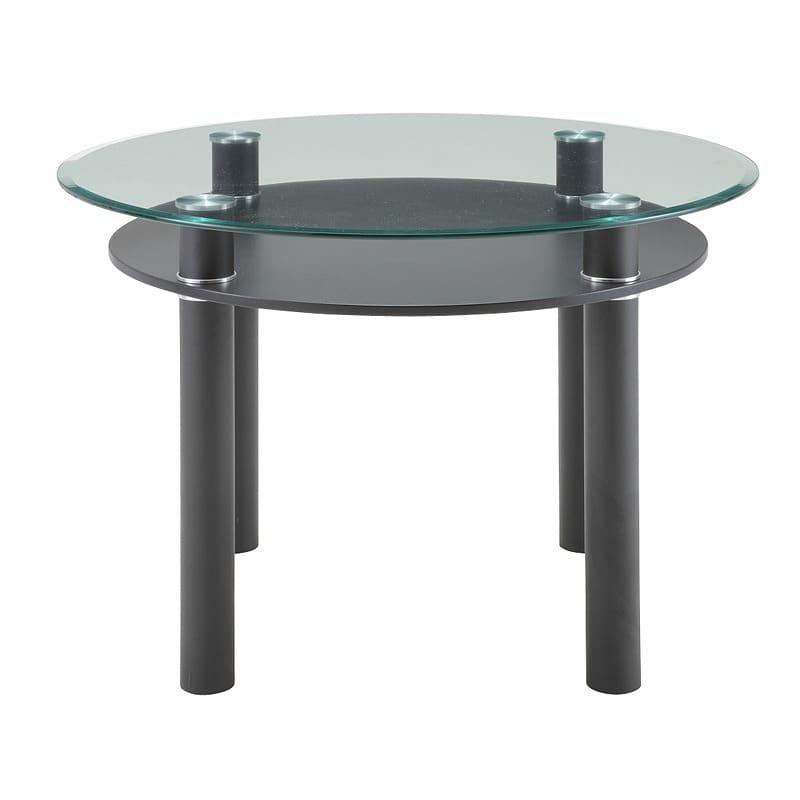 ダイニングテーブル ルシ—ド GDT−7719 BKブラック:ダイニングテーブル