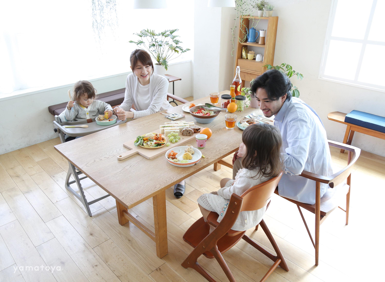 ベビーチェアー マテルナ テーブル&ガード付 3506RD