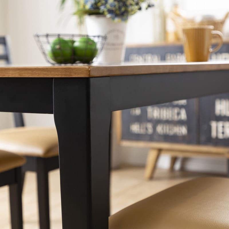 ダイニングテーブル ポンテ ブラウン135