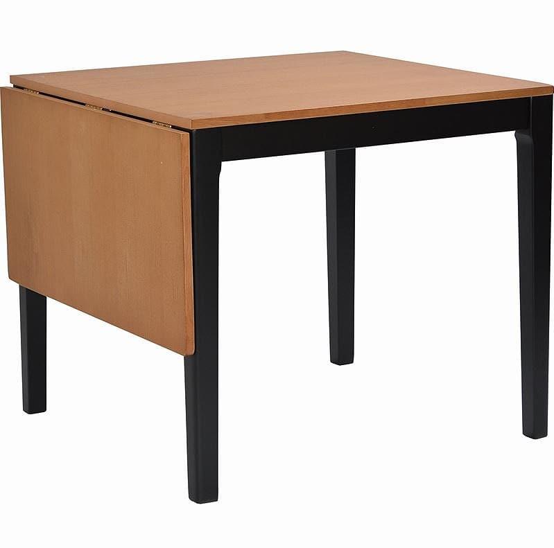 ダイニングテーブル ポンテ ブラウンBT120(伸長式):部屋に馴染む落ち着いたツートンカラー