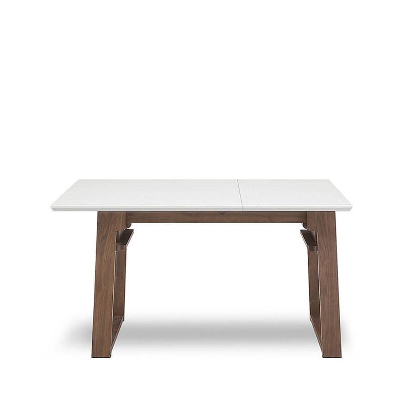 LD4点(R)セット ゲスト LDテーブルWH+伸長チェアR+カウチR+80ベンチ WH