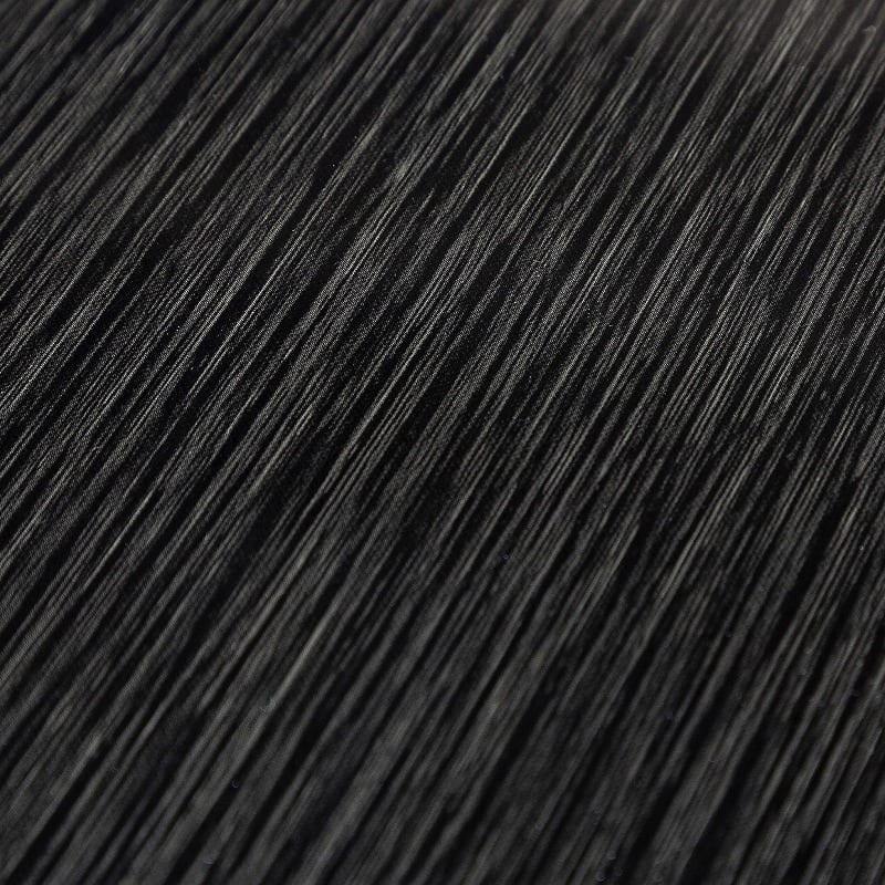 ダイニングテーブル シフト140伸張テーブル BK:艶のある天板が高級感を演出