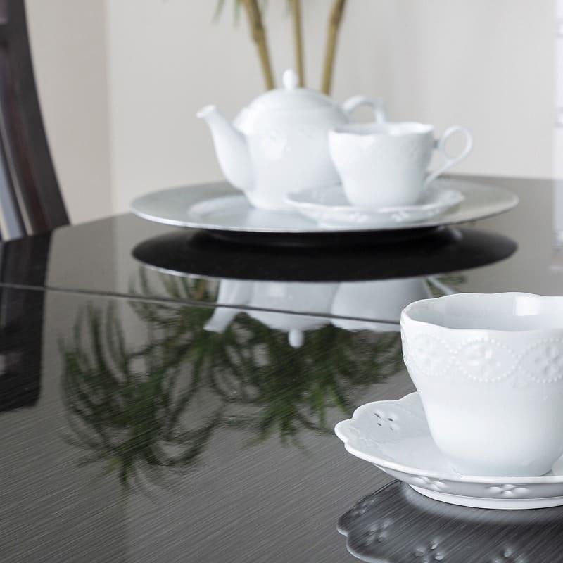 ダイニングテーブル シフト140伸張テーブル BK