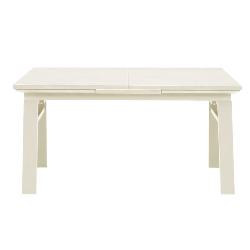ダイニングテーブル シフト140伸張テーブル WH