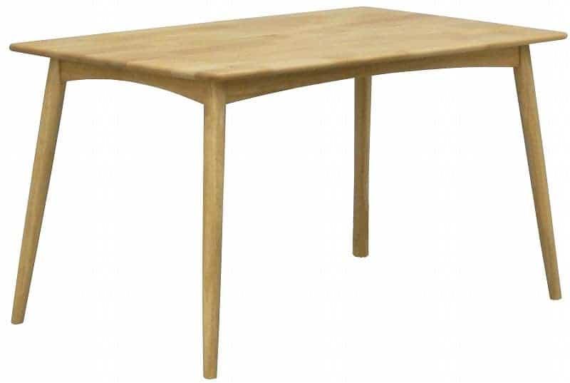 ダイニングテーブル リーフパーク 125 DT NA:心安らぐコンビネーション