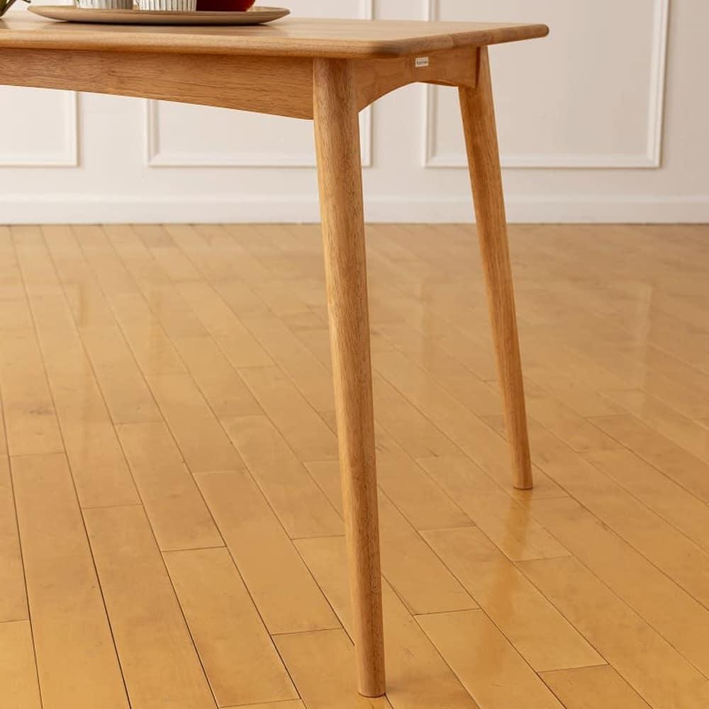 ダイニングテーブル リーフパーク 125 DT NA:スッキリデザイン