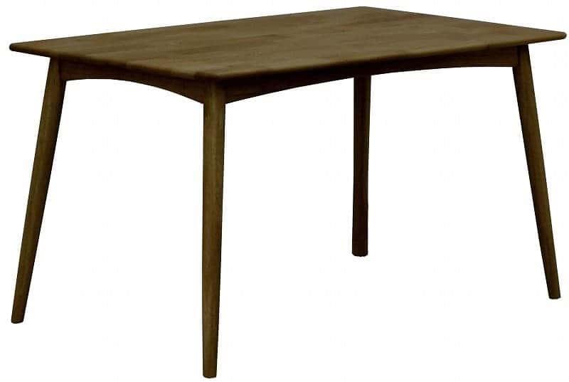 ダイニングテーブル リーフパーク 125 DT DBN:心安らぐコンビネーション
