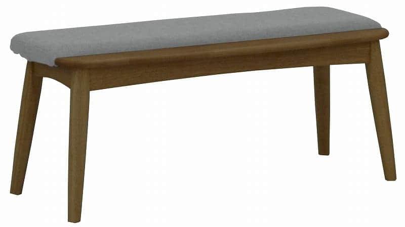 ダイニングベンチ リーフパーク DB DBN・グレー:心安らぐコンビネーション