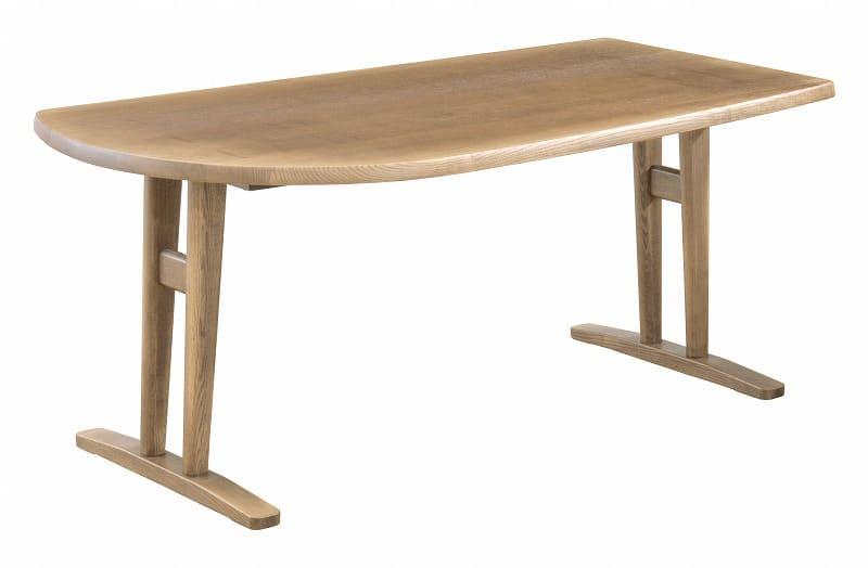 ダイニングテーブル シード 165−85変形(R)N:ダイニングテーブル