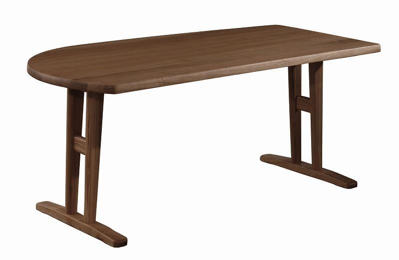 ダイニングテーブル シード 165−85変形(L)AT:ダイニングテーブル