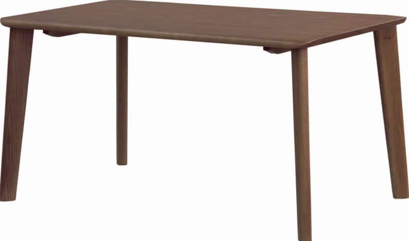 ダイニングテーブル 若菜 DT−3508(135x80)カフェ:ダイニングチェア