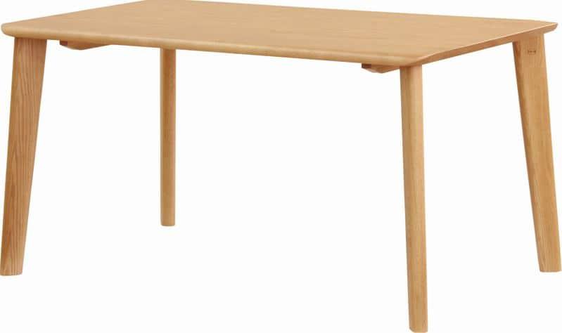 ダイニングテーブル 若菜 DT−3508(135x80)ナチュラル:ダイニングチェア